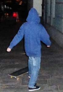 Boy on Skateboard. Incapacity Planning is for the what-if here.
